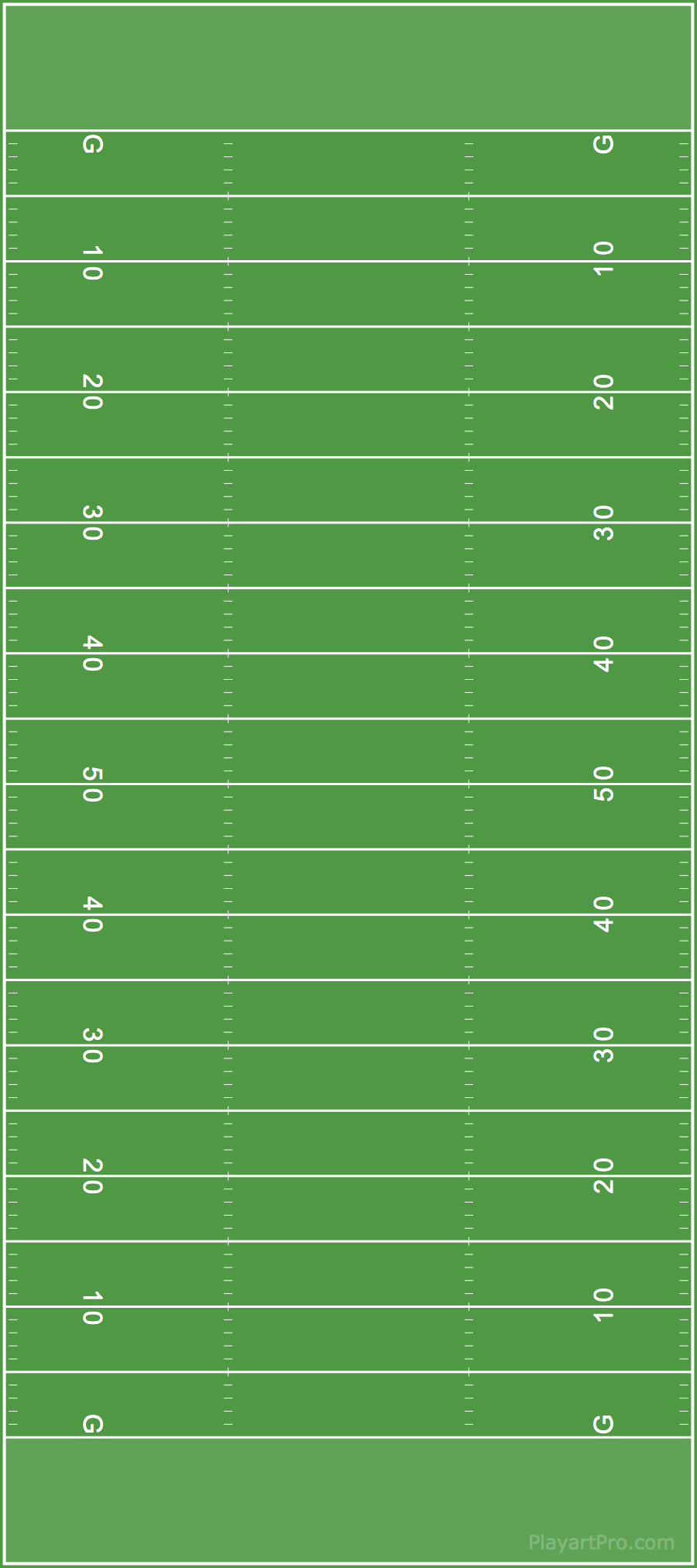 football fields playart pro support