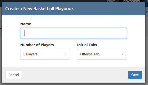PlaybookCreate
